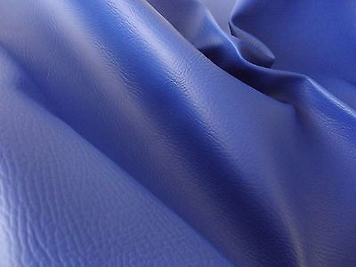 NAVY MATT FR PVC Leather Cloth Vinyl Upholstery Fabric Material
