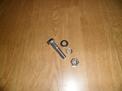 Vespa P Px T5 Stainless Steel Kickstart Bolt + Washers And Nut