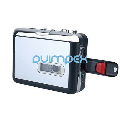 P02 Cassette to mp3 Converter more than USB Stick Recorder tape-to-mp3 Music