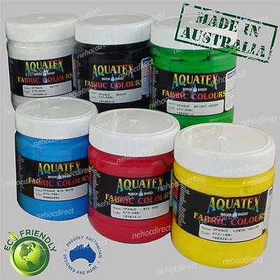 Supercover Fabric Ink Paint Enviro Friendly (Permaset substitute) Aquatex Opaque