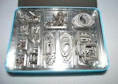 Stampin' Up! Hodgepodge Hardware Style Silver 200 pcs Embellishments Cards
