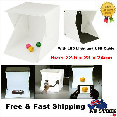 Light Room Mini Photo Studio Photography Lighting Tent Kit Backdrop Cube Box