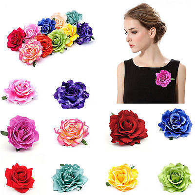 Rose Flower Hairpin Brooch Hair Clip Wedding Bridal/Bridesmaid Party Accessories