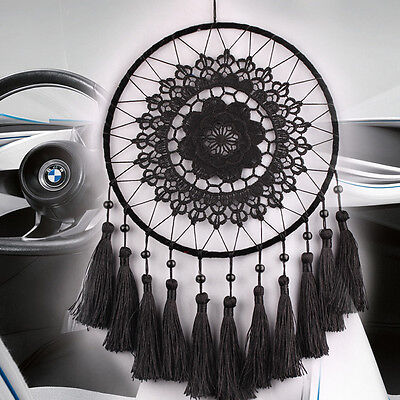 Feder Perlen Dreamcatcher Traumfänger Indianer  Windspiel Geschenk Decoration