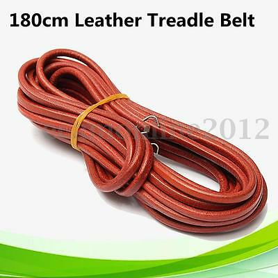 """For Singer Sewing Machine 180cm 71'' Leather Treadle Belt Parts with Hook 3/16"""""""