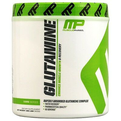MusclePharm Glutamine -Post-Workout Recovery -300 Grams - 60 servings Unflavored