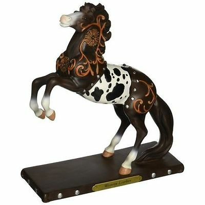 New Enesco Enesco Trail of Painted Ponies Western Leather Figurine