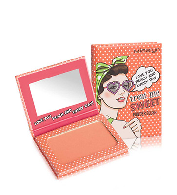MISSLYN Treat Me Sweet! Powder Blush (42 Love You Peach And Every Day!) 6g OVP