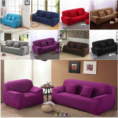 Universal Stretch Sofa Slipcover 1-4 Seater Couch Settee Reclining Chair Covers