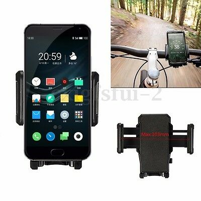 Bicycle MTB Bike Holder Motorcycle Mount Universal For Cell Mobile Phone GPS New