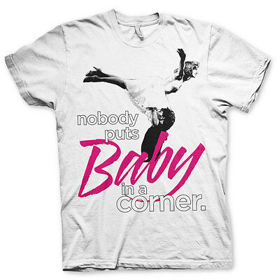 Officially Licensed Nobody Puts Baby In A Corner Women T-Shirt S-XXL Sizes