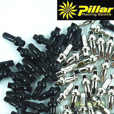 50pcs Pillar 14G*14.4 DSN spoke nipple 14.4mm
