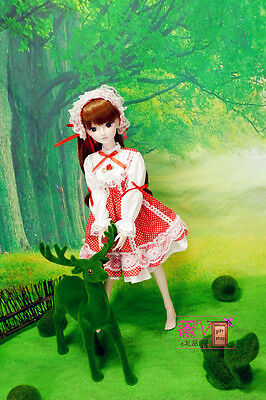 "24"" New 1/3 Handmade PVC BJD MSD Lifelike Doll Joint Dolls Baby Gift New Aimee"