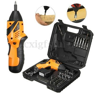 45 in 1 Power Tool Set Rechargeable Cordless Electric Screwdriver Drill Kit