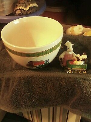 John Deere Bowl by Gibson and Mary Moo Moos