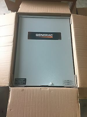 Generac 200-Amp Automatic Smart Transfer Switch w/ Power Management RTSC200A3