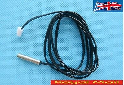 1m NTC Thermistor accuracy temperature sensor 10K 1% 3950 Waterproof Probe #H59