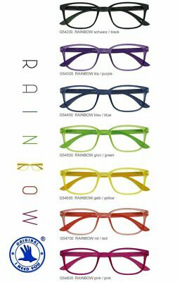 Lesebrille  I NEED YOU Rainbow in 7 Farben