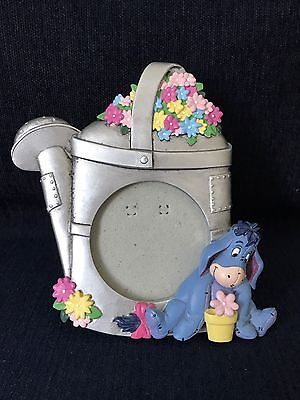 "Disney's Eeyore Picture Frame 6"" Tall Watercan"