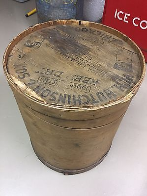 "1920's Empty Coca Cola Bottle Cap Crate, Made By W H Hutchinson & Son 19"" X 22"""