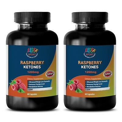 Potent Ingredients - Raspberry Ketones Lean 1200mg - Diet Pill - 2 B 120 Ct