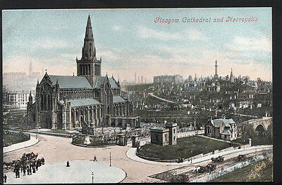 Scotland Postcard - Glasgow Cathedral and Necropolis  RS3012