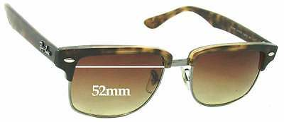 bb967fe17a SFx Replacement Sunglass Lenses fits Ray Ban RB4190 Clubmaster Square - 52mm