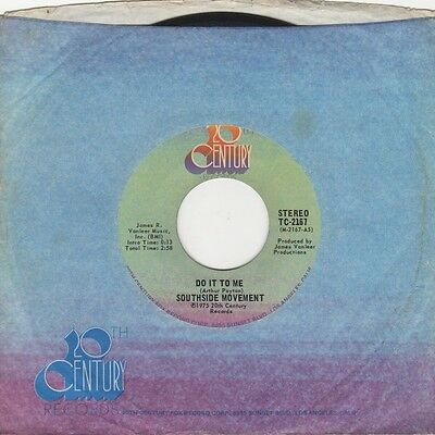 Southside Movement - Do It To Me - 20th Century  - Northern Soul Crossover Motow