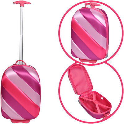 Knorrtoys Bouncie Trolley Kinderkoffer Girl (Pink)