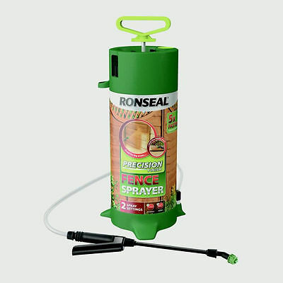 Ronseal Precision Finish Pump Sprayer - Garden Shed / Fence Sprayer Pump Action