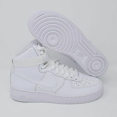 Nike Air Force 1 High 653998-100 Kids GS Basketball Shoes White
