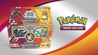 Pokemon TCG Starter Set Sun And Moon Trainer Kit: Lycanroc And Alolan Rychu Deck