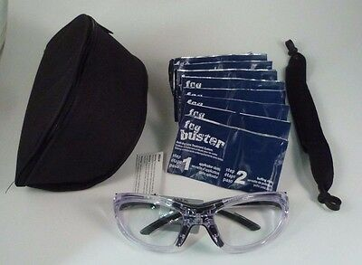 LEADER T-Zone XL Clear Black Sport Protective Eyewear Adult Basketball Goggles
