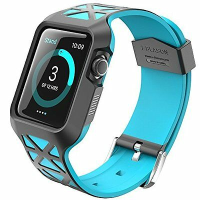 Durable Soft Bumper Slim Fit Hybrid Drop Resistand Case Cover for Apple Watch