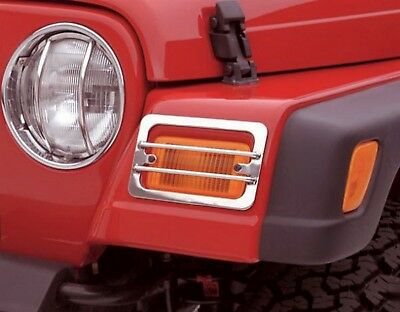 Headlight Guard-Euro Rampage 84665 fits 97-16 Jeep Wrangler