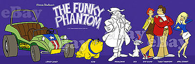 EXTRA LARGE! FUNKY PHANTOM Panoramic Photo Print HANNA BARBERA