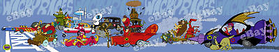 NEW! EXTRA LARGE! WACKY RACES Panoramic Photo Print HANNA BARBERA