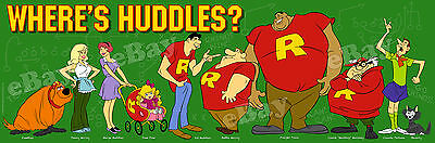 New!! EXTRA LARGE! WHERE'S HUDDLES? Panoramic Photo Print HANNA BARBERA