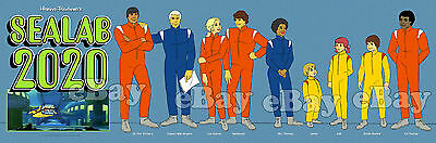 NEW!! EXTRA LARGE! SEALAB 2020 Panoramic Photo Print HANNA BARBERA
