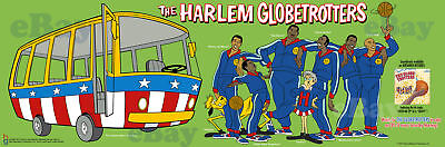 EXTRA LARGE! HARLEM GLOBETROTTERS Panoramic Photo Print HANNA BARBERA
