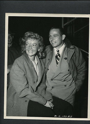 Ida Lupino + Husband Collier Young Candid By Lippman - 1949 Lust For Gold