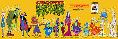 EXTRA LARGE! SABRINA & THE GROOVIE GOOLIES Panoramic Photo Print FILMATION