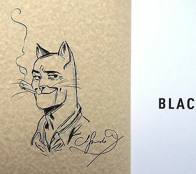 Guarnido Grande illustration non nominative Blacksad & Friends n&s Neuf