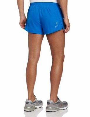 Mizuno Running Men's DryLite Maverick Split Shorts, Blue/Grey, Large