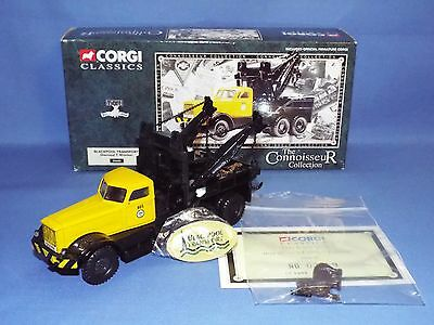 Corgi Classics No 55605 Diamond T Wrecker Blackpool transport VNMB