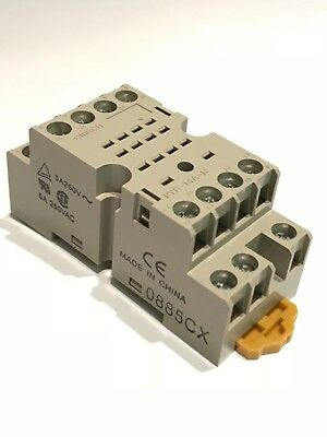 OMRON PYF14AN 14 PIN RELAY BASE DIN MOUNT                                 fd5e13