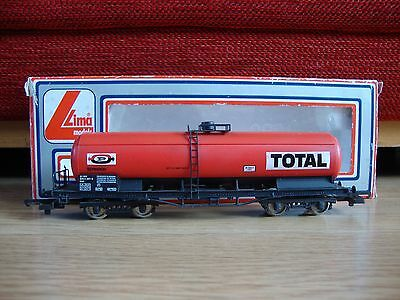 Lima 302909W 00 Gauge TOTAL Double Bogie Fuel Tanker - Complete with box