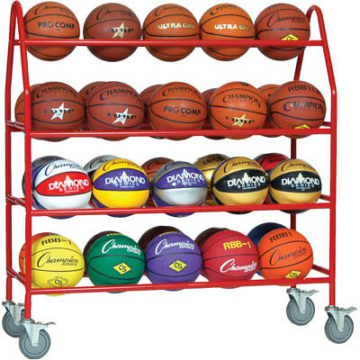 CHAM-BRCPRO-Champion Sports Pro Ball Storage Cart