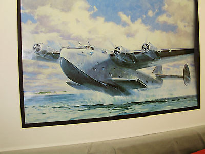 Pan Am Boeing 314 Flying Boat by Artist Colossal