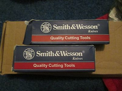 Buyers choice of one- Smith and Wesson Vintage knife CK1029 or CK(A), new in box